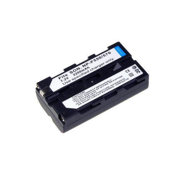 Neewer Li-Ion-batería 2100mah de repuesto para Sony np-f550 570 f330
