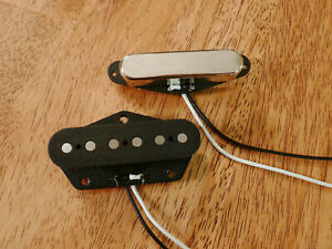 ELECTRIC-GUITAR-PICKUP-SET-HIGH-OUTPUT-ALNICO-5-AND-2-MAGNETS-FOR-TELECASTER