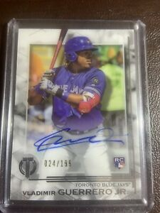 2019-TOPPS-TRIBUTE-VLADIMIR-GUERRERO-JR-ROOKIE-AUTO-199-RC-TORONTO-BLUE-JAYS