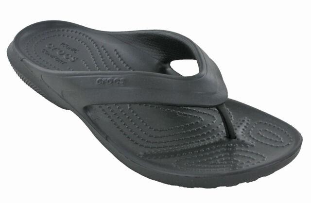 faaa64ffa5af5 Crocs Mens Classic Flip Flop Casual Comfort Lightweight Croslite ...