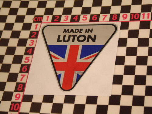 Cresta Wyvern Velox Victor Viva Vauxhall CA Van Made in Luton Chrome Sticker
