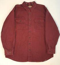 LL Bean Men's Button Up Barn Jacket Coat Size XL