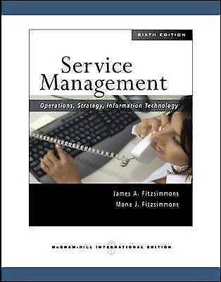 Service Management: Operations, Strategy, Information Technology-ExLibrary