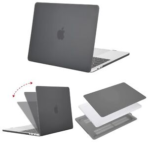 uk availability d1aee 95001 Details about MOSISO MacBook Pro 15 Plastic Hard Case 2018 2017 2016  Release Gray Colour NEW