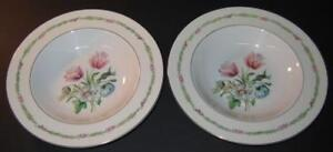 Haviland-Garden-Flowers-Soup-Cereal-Bowls-Lot-of-2-Several-available