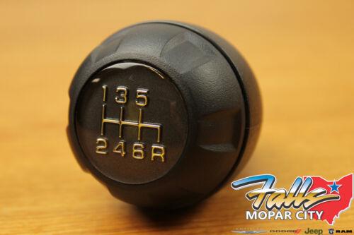 2007-2010 Jeep Wrangler JK 6 Speed Manual Transmission Shifter Shift Knob Mopar