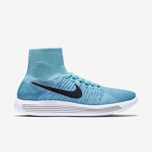 Nike WOMEN'S Lunarepic Flyknit Gamma Blue SIZE 9 BRAND NEW