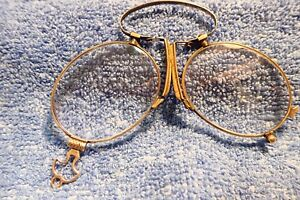 10K-SOLID-GOLD-1890-039-s-034-PINC-NEZ-034-LORGNETTE-IN-VERY-NICE-CONDITION