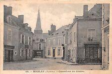 MESLAY (MEYENNE) FRANCE CARREFOUR DU CENTRE POSTCARD 1919