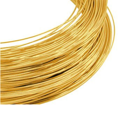 SALE 9ct Gold Round Wire 1.2mm Fully Annealed Length 10mm-1000mm NEW