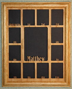 School Years Picture Frame With Name Graduation Collage K 12 And