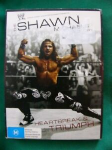WWE-SHAWN-MICHAELS-STORY-Region-4-DVD-3-DISC