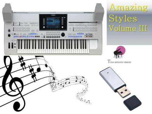 /'/'/'/'/'TYROS 4 USB-Stick+Song Styles VOLUME 3 NEW/'/'/'