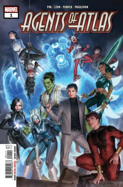 AGENTS OF ATLAS #1 (OF 5) Marvel Comics (2019)