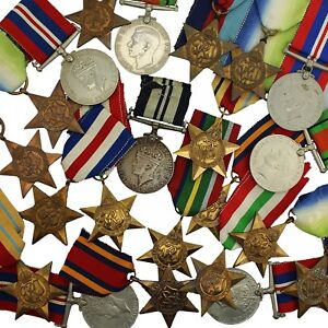 100-ORIGINAL-WW2-Medals-amp-WW2-Campaign-Stars-Choose-Your-Medals-amp-Quantity