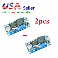 2x XL6009 DC-DC Adjustable Step-up Boost Power Supply Module Superior to LM2577