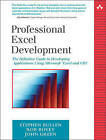 Professional Excel Development: The Definitive Guide to Developing Applications Using Microsoft Excel and VBA by John Green, Rob Bovey, Stephen Bullen (Mixed media product, 2005)