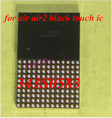 New 1X Black touch IC CHIP 343S0583 For ipad 6 ipad air 2