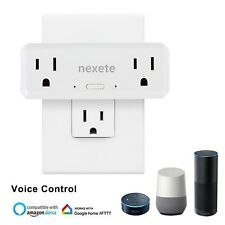 6pcs WiFi Smart Plug Power Outlet Socket Work With Amazon Alexa Google Phone App