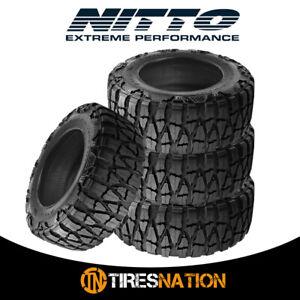 (4) New Nitto Mud Grappler X-Terra 37/13.5/17 131P Mud Terrain Tire