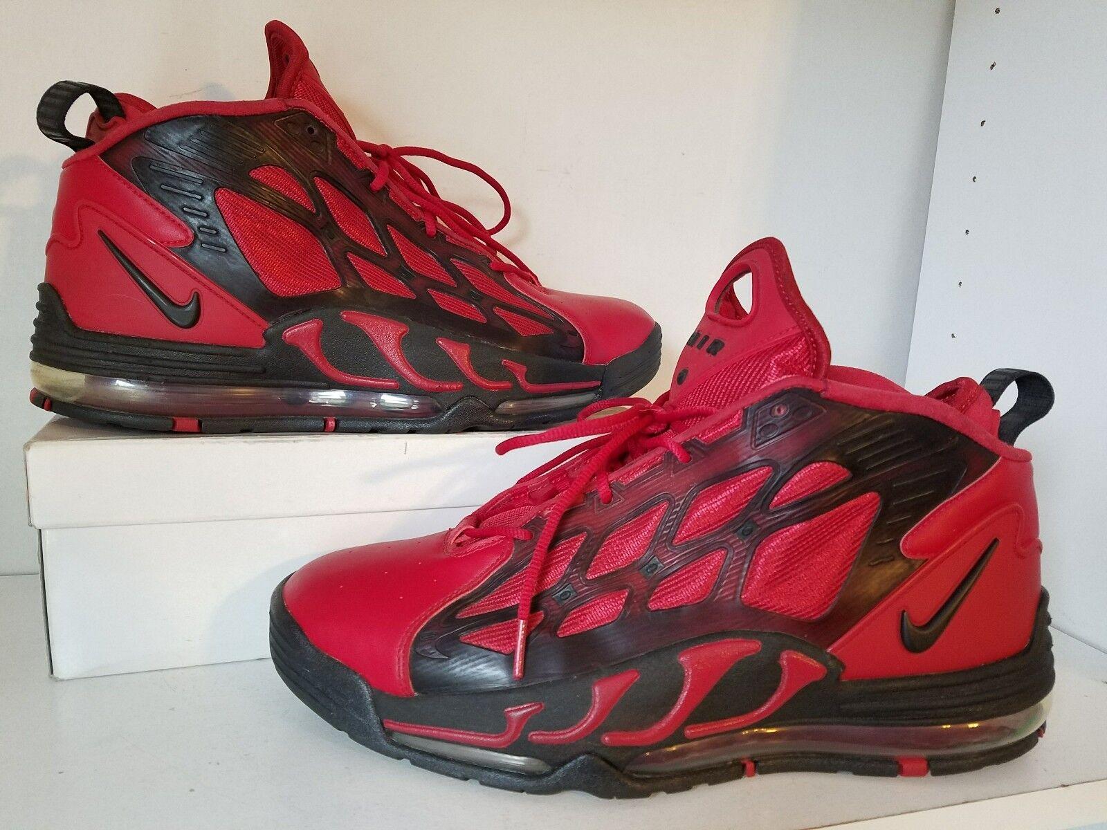 Nike air max pilastro basket rossi sz 12 525226 600