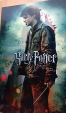 3D Harry Potter and the Deathly Hallows Part 2 - Original Moving Image Poster
