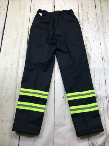 Reflective Hi Vis Navy Blue  Pants Industrial Work Uniform ReedFlex® Men/'s