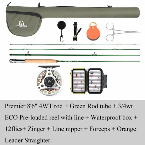 Maxcatch Fly Fishing Rod 3//4//5//6//7//8//9//10//12WT Fast Action IM8 Carbon Blank