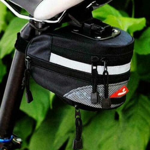 Waterproof Outdoor Bike Saddle Bag Under Seat Storage Tools Bags Tail I3D2 C0B2