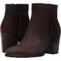 Ecco Art To Wear Shape 55 Coffee Suede Low Cut Zip Ankle Boots 40