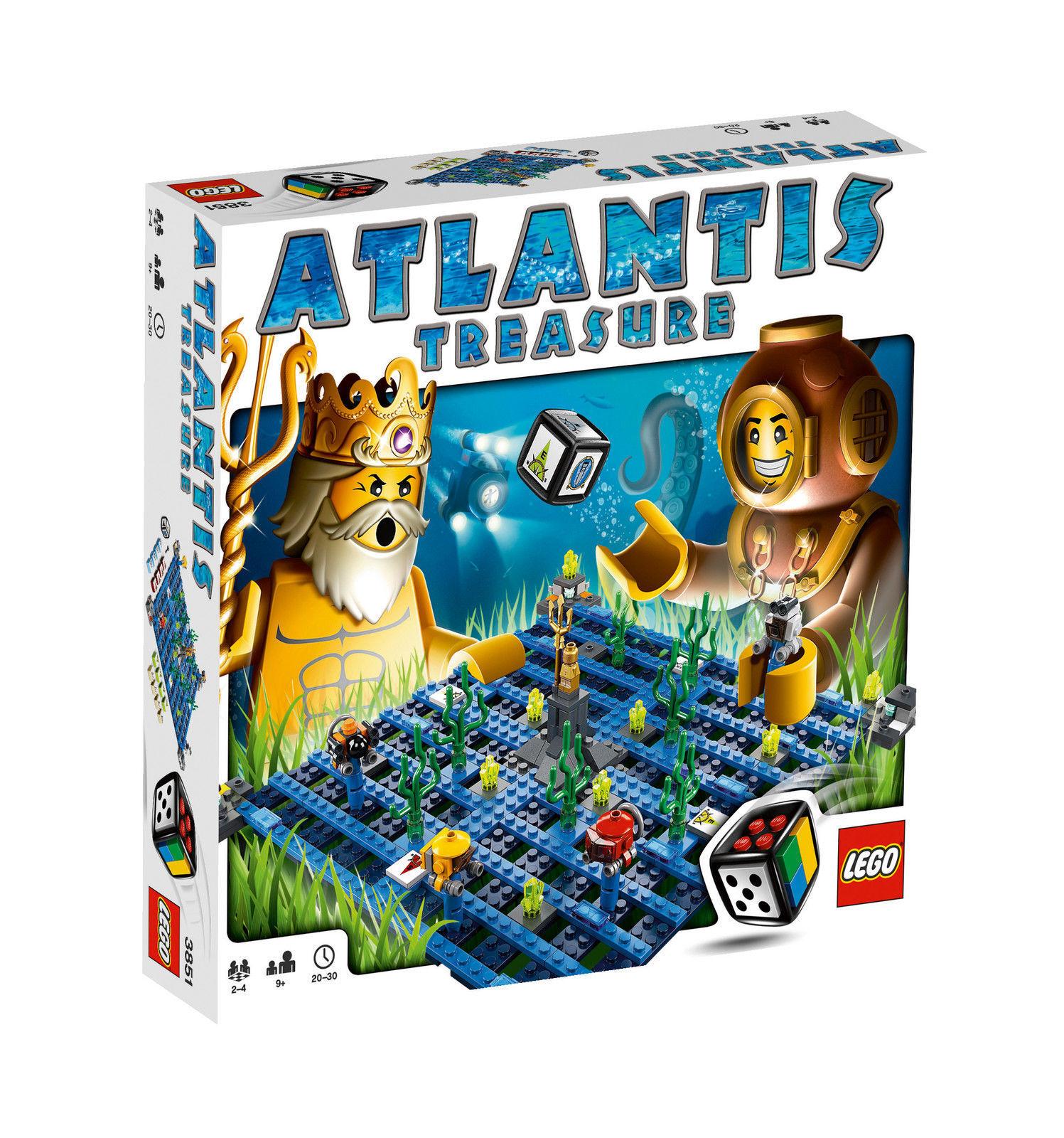 LEGO LEGO LEGO 3851 - Games Atlantis Treasure   NEU OVP RAR   Komplett 8f1fc3