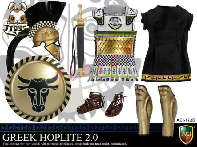 ACI Toys 1//6 Power Greek Hoplite 2.0/_ Linothorax #C /_Warriors Ancient AT100YC