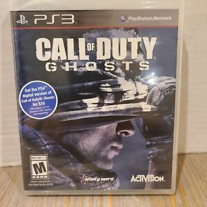 Call of Duty: Ghosts PLAYSTATION 3 PS3 BRAND NEW FACTORY SEALED Activision