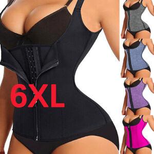 Fajas-Reductoras-Colombianas-Shaper-Waist-Trainer-Tummy-Control-Vest-Corset-Plus
