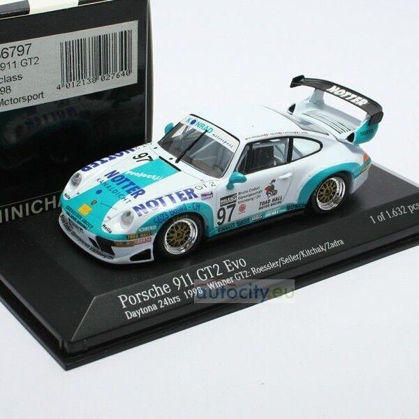 MINICHAMPS PORSCHE 911 GT2 EVO 'KONRAD MOTORSPORT' WINNER 24H DAYTONA   430986797  qualité pas cher et top