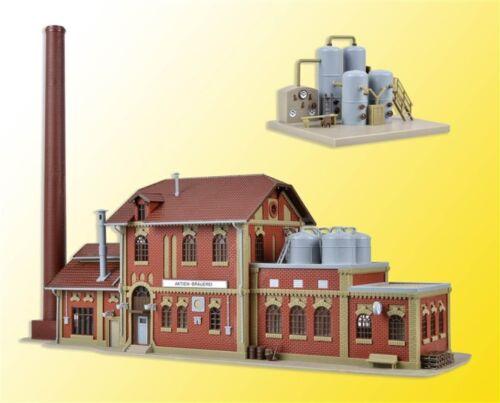 SH  Vollmer 45609 Brauerei mit Inneneinrichtung Kesselhaus Bausatz
