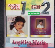 Angelica Maria Donde Oyes 1 Oyes 2 New Nuevo sealed CD