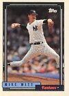 1992 Topps Mike Witt 357 Baseball Card