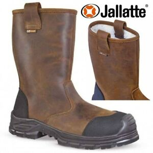 0d436d05392 Details about NEW MENS JALLATTE RIGGER SAFETY BOOT STEEL TOE CAP WATERPROOF  WORK S3 SHOE SIZE