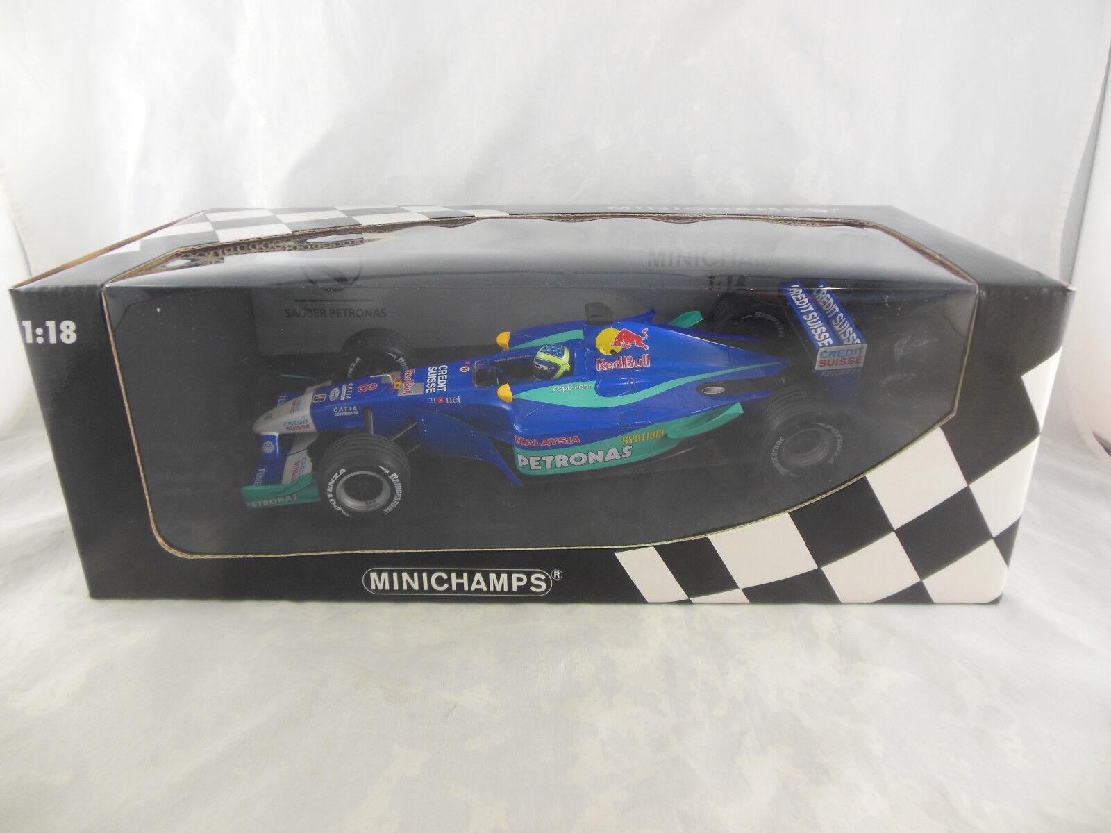 Minichamps 100 020008 Sauber Petronas C21 2002 F Massa   Scale 1 18