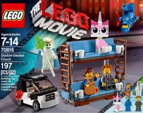 Lego New Sealed Set Movie Double Decker Couch 70818 w Figures Gift Toy