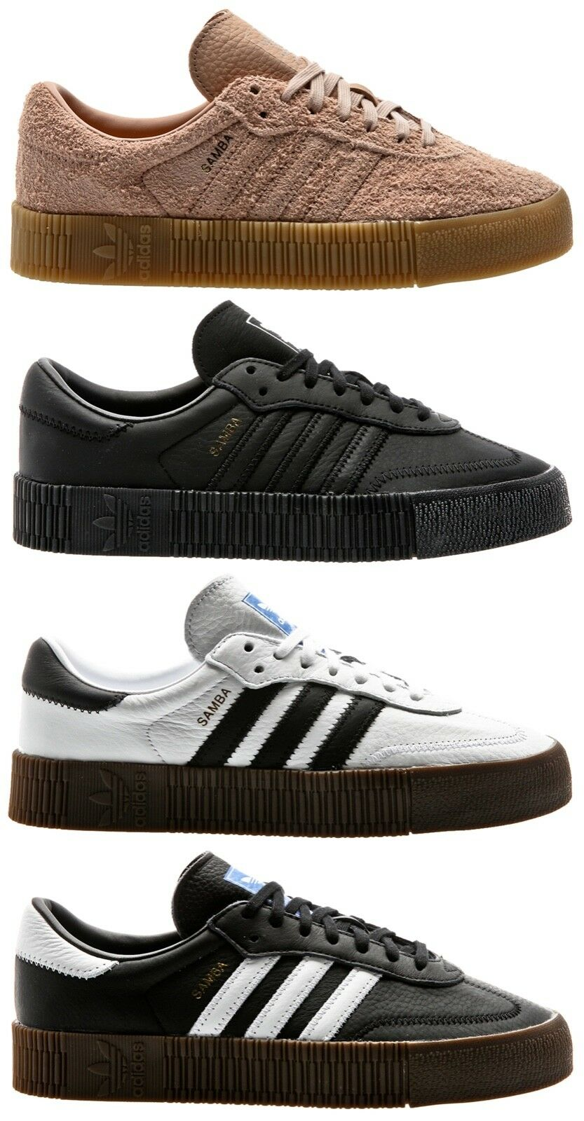 Adidas Originals sambarose W femmes baskets Chaussures femmes chaussures