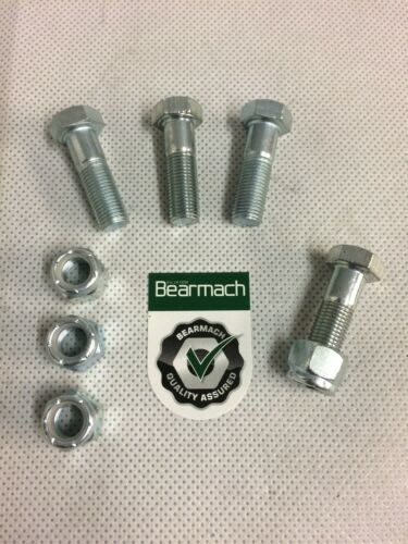 Bearmach Discovery2 /& Defender Front Output Prop Shaft Bolts /& Nuts x4 BT606101