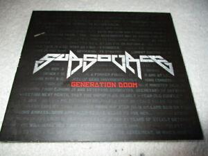 SUBSOURCE-034-Generation-Doom-034-CD-EP-Metal-Punk-Dubstep-fusion
