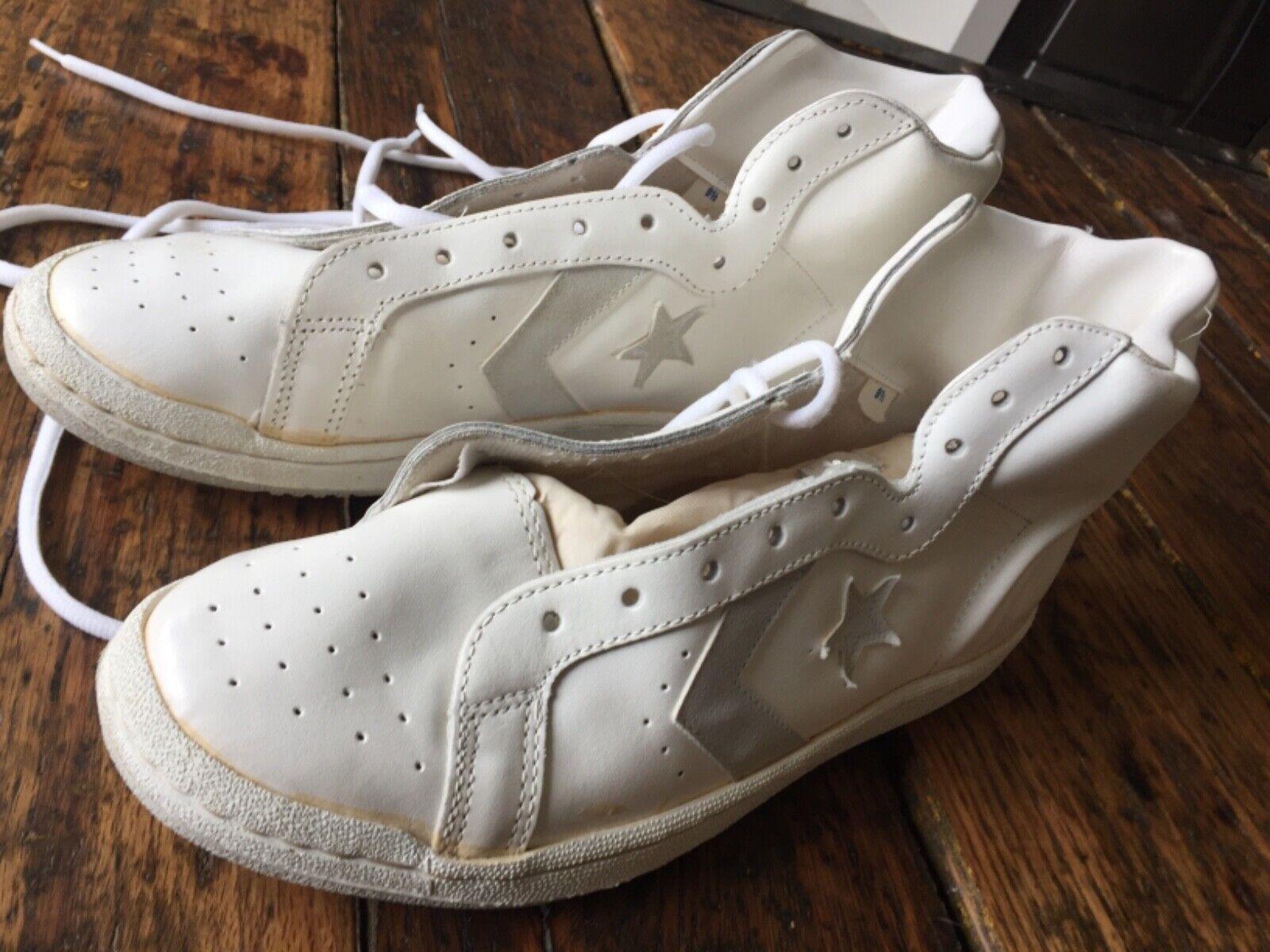 CONVERSE Pro Leather All Star scarpe scarpe scarpe bianca Made in the USA Dimensione US 9.5 e52bc8