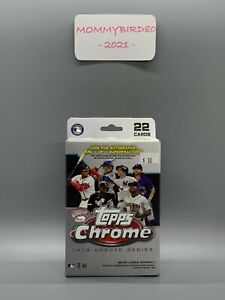 2020 Topps Chrome Update Series Baseball 22 Card Blister Hanger Box SEALED