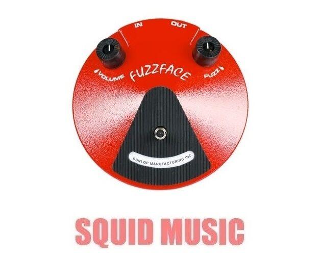 Dunlop Fuzz Face Pedal JDF2 Original Germanium PNP Transistor ( OPEN BOX )