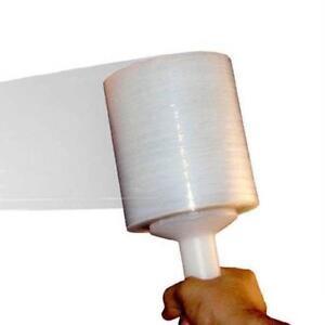 "5"" x 1500 Ft x 80 Ga Hand Stretch Wrap with a Plastic Handle 12 Rolls - OSTK"