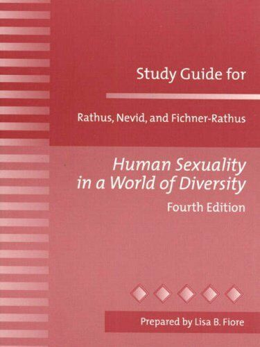 Study Guide for Human Sexuality in a World of Dive