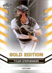034-Raro-034-Tyler-Stephenson-2015-Hoja-Draft-034-Oro-Edicion-034-Carta-Rookie